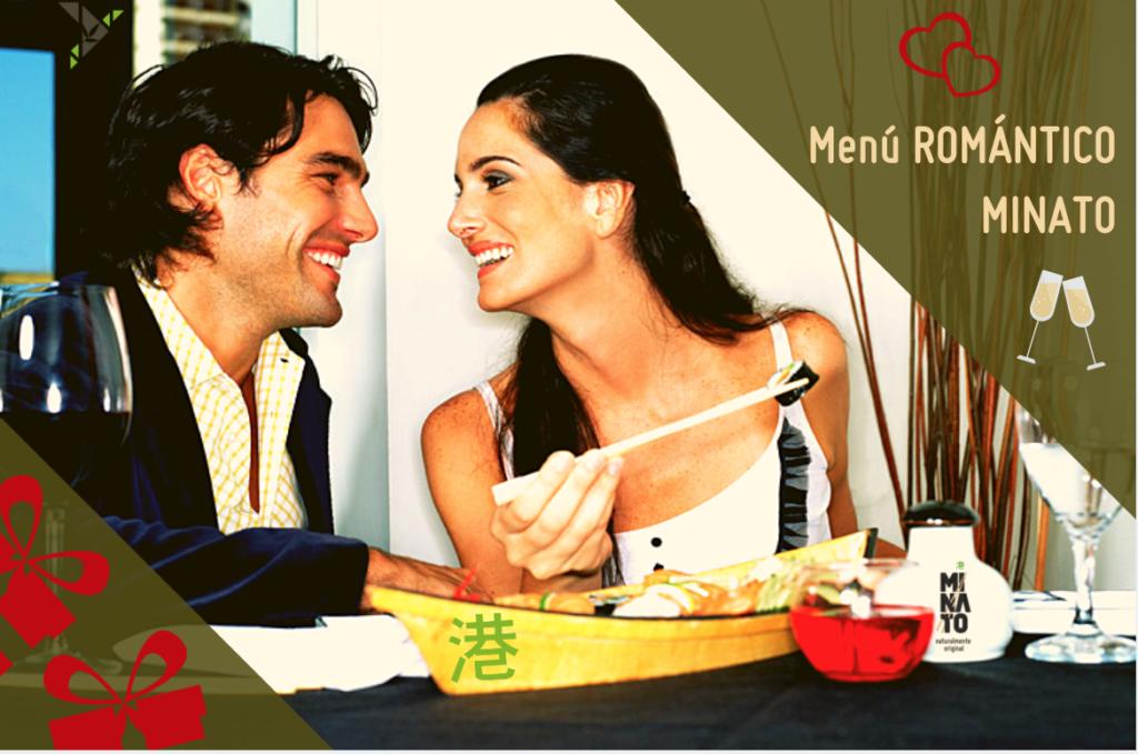 menu romantico lanzarote